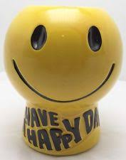 Smiley Face Vase Smiley Face Cookie Jar Ebay
