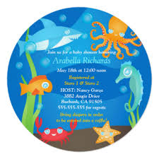 theme baby shower invitations announcements zazzle