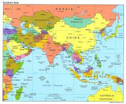 Opal Creek Oregon Map Asia Tourist Map Map Of Asia Asia Map Asia Travel Map Asia