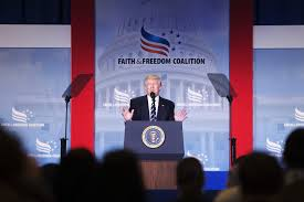 siege social but tells conservatives at faith freedom coalition we are