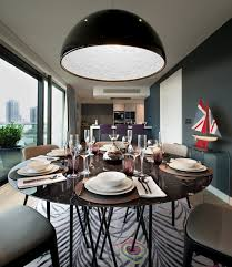 new build penthouse in london exuding spontaneity and colour
