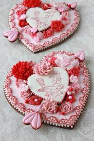 Valentines Day Decorated Cookies by Video Release How To Make Embossed Heart Cookies A Valentine U0027s