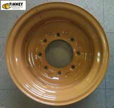 case 580l 580sl 580 super l backhoe 2 wheel drive front rim wheel
