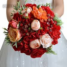 wedding flowers for bridesmaids artificial wedding flowers bouquets 2018 for outerside