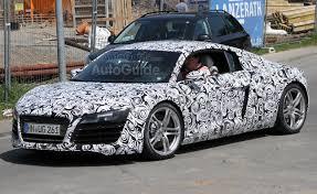 sports car audi r8 2013 audi r8 facelift testing photos autoguide com