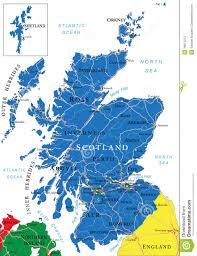 Dundee Scotland Map Scotland Map Stock Photography Image 36015012