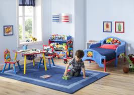 Toddler Living Room Chair Delta Children Nick Jr Kids 3 Piece Blaze And The Monster