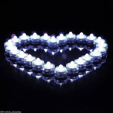 submersible led tea lights electronic candle light romantic waterproof submersible led tea