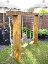 Diy Backyard Swing Set Diy Garden Swing U2013 Exhort Me
