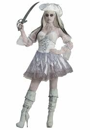 women u0027s spirit of the seas ghost pirate costume