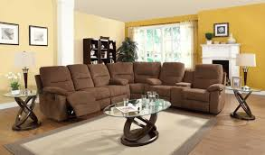 Microfiber Reclining Sofa Sets Sectional Recliner Sofa Set 1025theparty