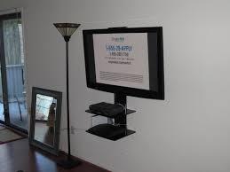 interior awesome tv wall mount with shelf designs custom decor