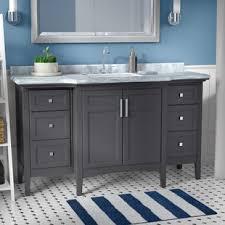 Bathroom Sink Cabinets Modern Modern Contemporary Bathroom Vanities You Ll Wayfair