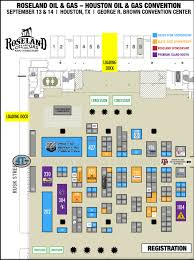 La Convention Center Floor Plan Houston Oil U0026 Gas Convention Roseland Oil U0026 Gas