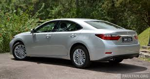 lexus price malaysia 2014 malaysian review 2013 lexus es250 and es300h sampled clublexus