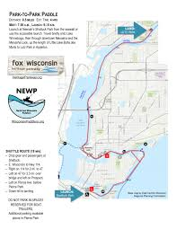 Green Bay Wisconsin Map by Park To Park Paddle U2013 North East Wisconsin Paddlers