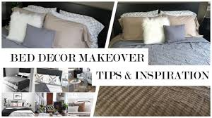 how to revamp your bedroom easy bed decorating ideas youtube