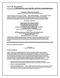 Resume Samples For Network Engineer network consulting engineer uxhandy com