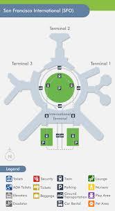 san francisco delta map san francisco airport sfo terminal map