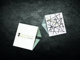 Business Cards Mini Best 25 Folded Business Cards Ideas On Pinterest Fold