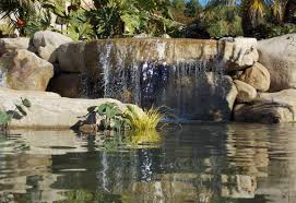 beautiful waterfall pond landscaping ideas for garden landscape