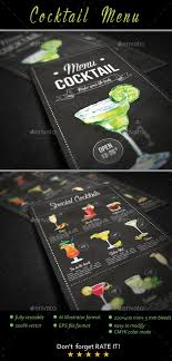 menu bar templates best 25 bar menu ideas on restaurant menu design