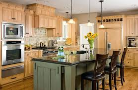 natural maple kitchen cabinets best maple shaker kitchen cabinets bexblings com