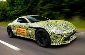 Aston Martin Db10 James Bond S Car From Spectre 2019 Aston Martin V8 Vantage Teased Resembles James Bond U0027s Car