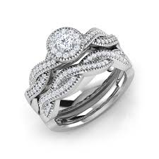 what is a bridal set ring buy bridal set rings design online price starting rs 42 114 in india