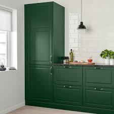 ikea colored kitchen cabinets bodbyn door green 24x30 ikea