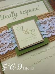 rustic wedding invitation burlap wedding barn wedding
