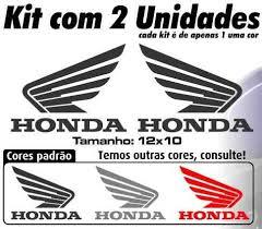 Top Adesivo Do Tanque Moto Honda - Asa Honda 2 Unidades - R$ 12,90 em  @WN73