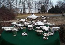 silver holloware gifts authentic antique nautical holloware serving pieces naval
