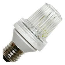 strobe light light bulb medium e26 base flat top clear action lighting tower