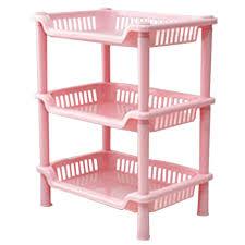 Pink Bathroom Storage Pink Plastic Bathroom Shelving Shoo Soap Laundry Shelf Toilet