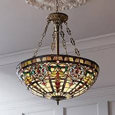 Stained Glass Light Fixtures Dining Room Style Pendant Light Fixture Visionexchange Co