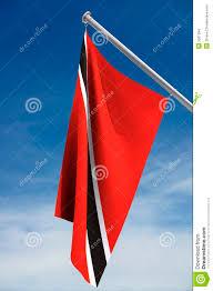 Flag For Trinidad And Tobago Trinidad And Tobago Flag Stock Photo Image Of Tobago 5561394