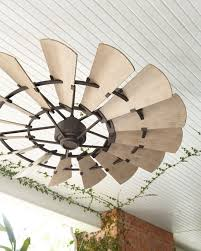 Patio Ceiling Fans Outdoor Windmill Bronze 60