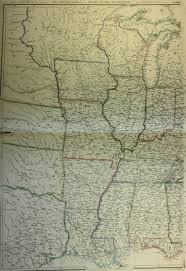 Usa Map 1860 by Map Of Midwest United States 1860