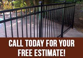 decorative ornamental steel and aluminum ornamental fencing