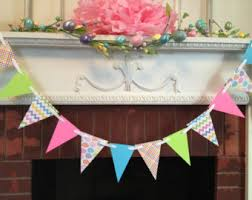 Easter Garlands Decorations by Happy Easter Etsy