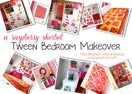 a raspberry sherbet tween bedroom makeover the homes i have made