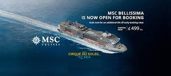 msc 119 day cruise infinity cruises msc cruises