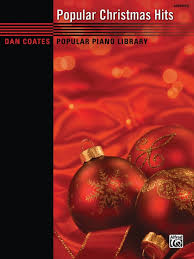 dan coates popular piano library popular christmas hits piano book
