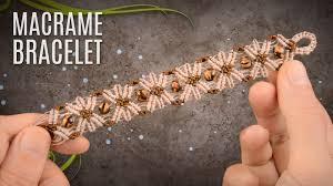 bracelet tutorials youtube images Flower bracelet teaser macrame school jpg