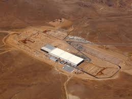 this is the enormous gigafactory where tesla will build its