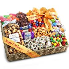 birthday gift basket golden state fruit birthday party chocolate candies