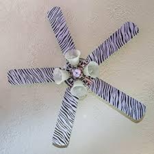 zebra print ceiling fan fancy blade ceiling fan accesories blade cover decoration zebra