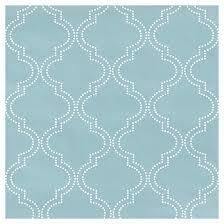 blue quatrefoil wallpaper wallpaper quatrefoil 20 5 x 18 blue rona