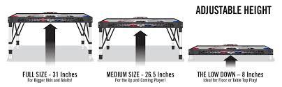 4ft adjust u0026 store hover hockey table